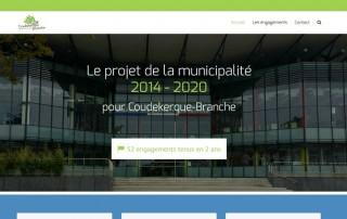 visuel site internet engagements de la municipalité de coudekerque-branche