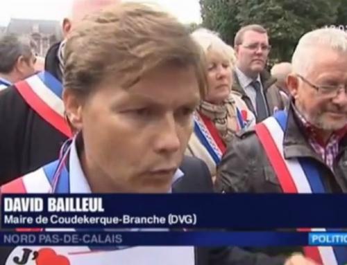 David Bailleul : manifestation à Lille en maire en colère !